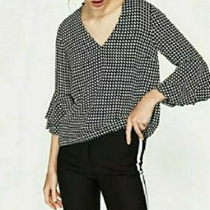 Small zara Flowing blouse